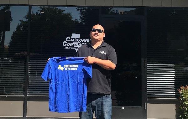 July Contractor of the Month: Fernando Ochoa