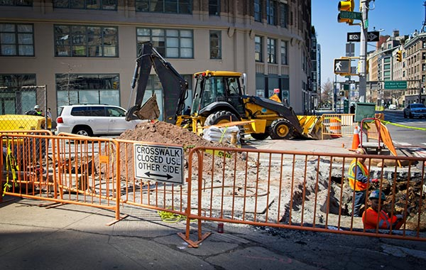 """<img src=""""right-of-way.jpg"""" alt=""""right-of-way work on busy city street with fenced off sidewalk"""">"""